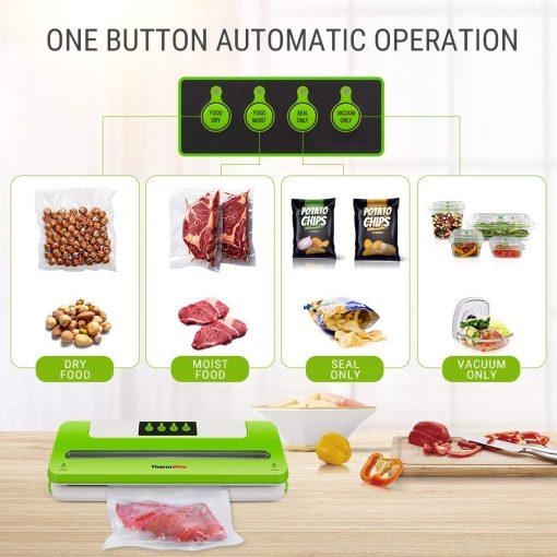 food vcuum machine operations