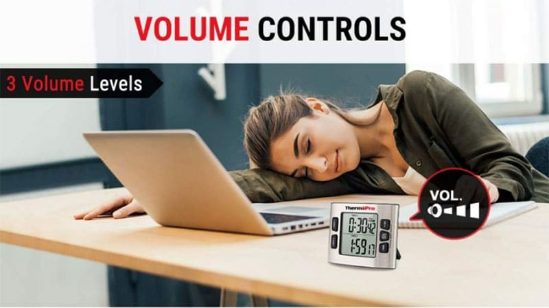 How to Adjust Volume on ThermoPro Digital Kitchen Timer