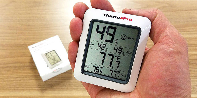 how to use ThermoPro indoor/outdoor thermometer