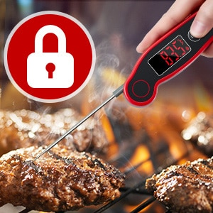 Secure Lock Meat Thermometer