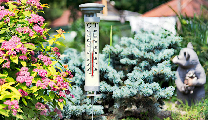 where to place outdoor thermometer