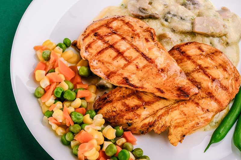 Chicken Burnt Outside Raw Inside