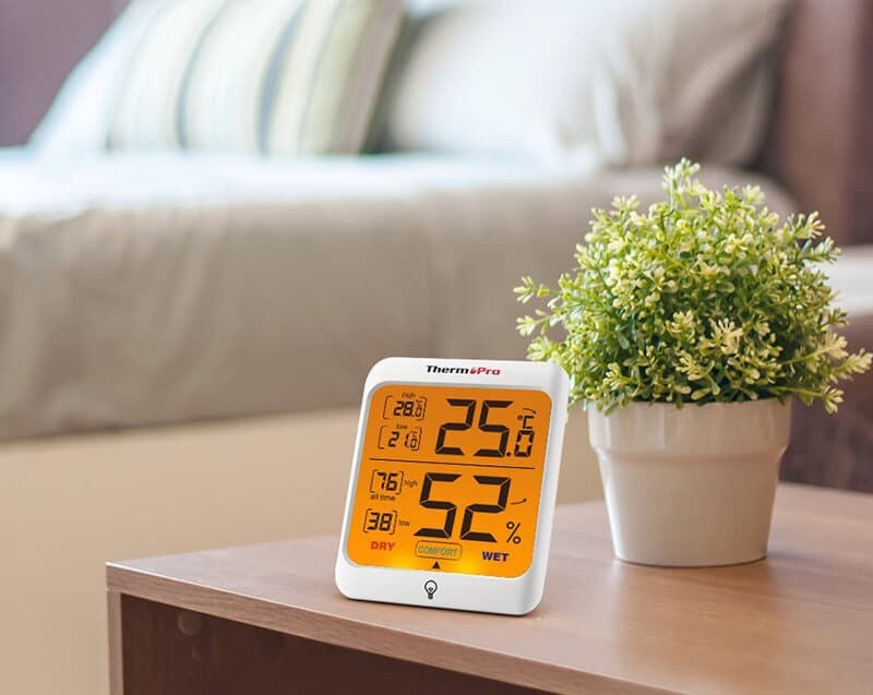 thermopro humidity monitor for bedroom