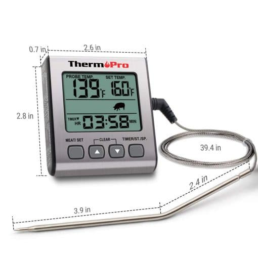 ThermoPro TP 16S Size