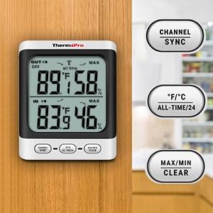 ThermoPro TP62 Digital Wireless hygrometer 3