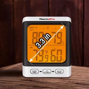 ThermoPro TP62 Digital Wireless Hygrometer 4