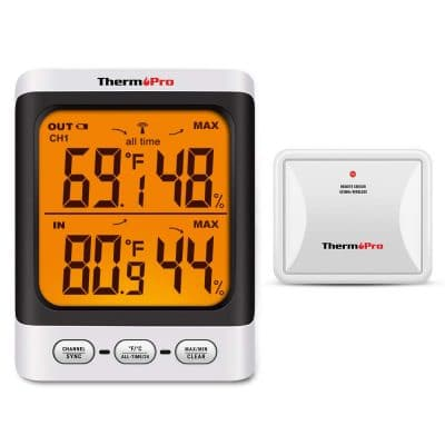 ThermoPro TP62 Digital Wireless Hygrometer