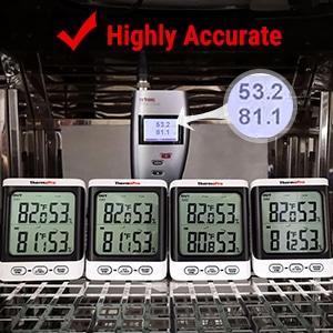 ThermoPro TP62 Digital Wireless Hygrometer 5