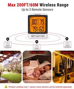 ThermoPro TP62 Digital Wireless hygrometer feature 2