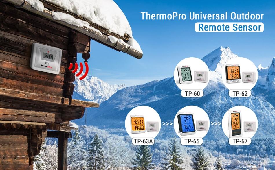 ThermoPro TX-5 Universal Rainproof Transmitter Monitor Banner