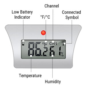 ThermoPro TX-5 Universal Rainproof Transmitter Monitor Features 3
