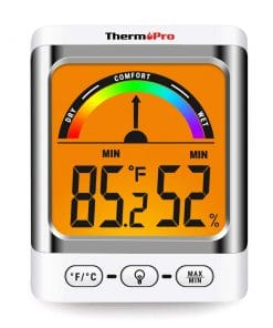 ThermoPro TP52 Digital Hygrometer Indoor Thermometer and Humidity Monitor Gallery