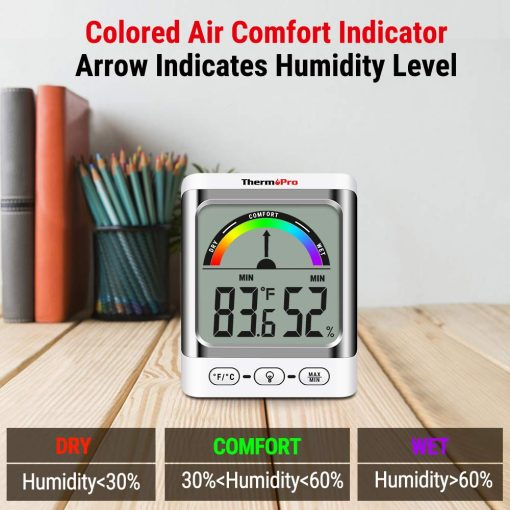 ThermoPro TP52 Colored Air Comfort Indicator