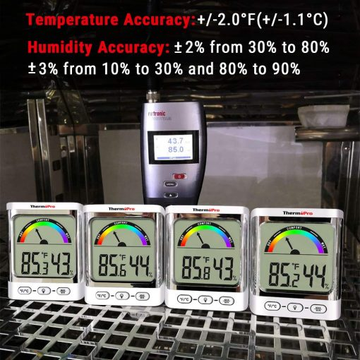 ThermoPro TP52 Temps &Humidty Accuracy