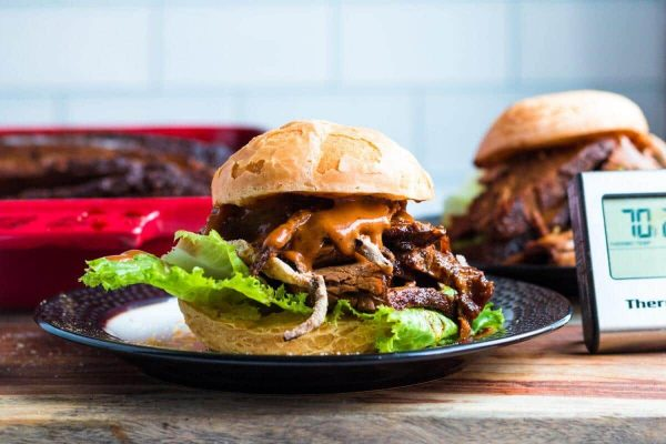 Brisket Sandwishes ThermoPro Recipes