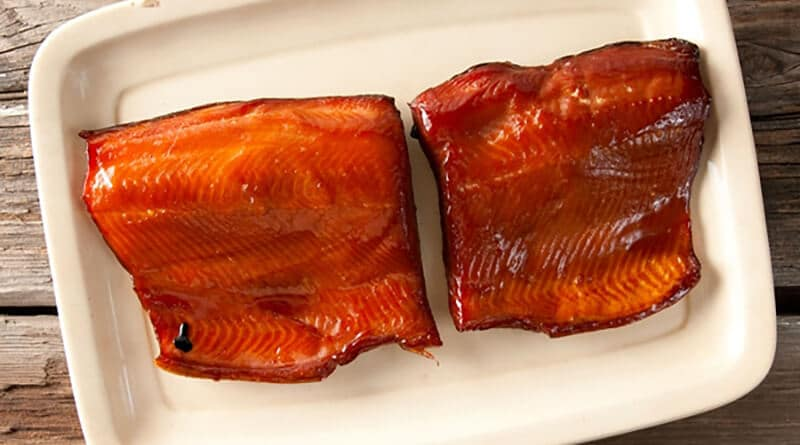 Cold Smoking Salmon