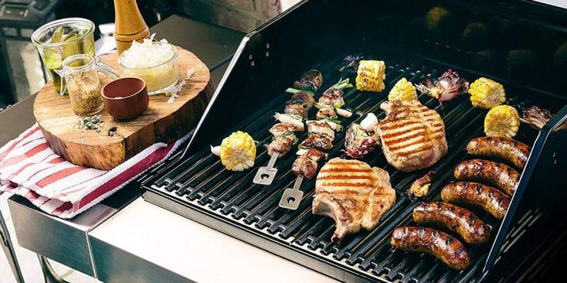gas grilling
