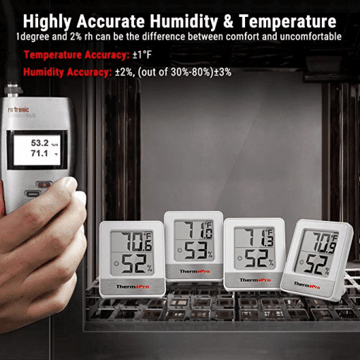 Highly Accurate Humidity & Temperature TP49