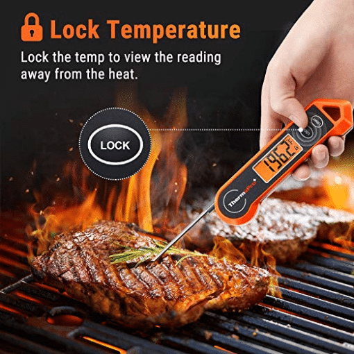 ThermoPro TP19H Lock Temp Feature