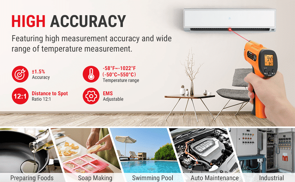 High Accuracy for Various Applications