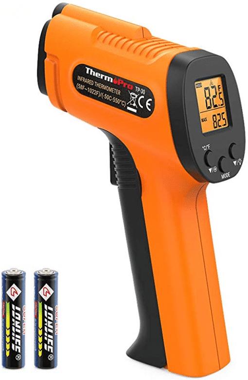 ThermoPro TP30 Digital Infrared Thermometer Gun Laser Temperature Gun