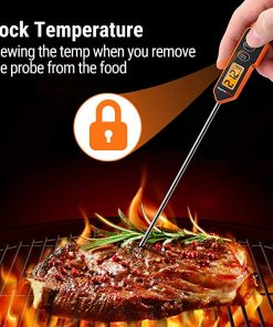 ThermoPro TP10H Lock Temperature Function