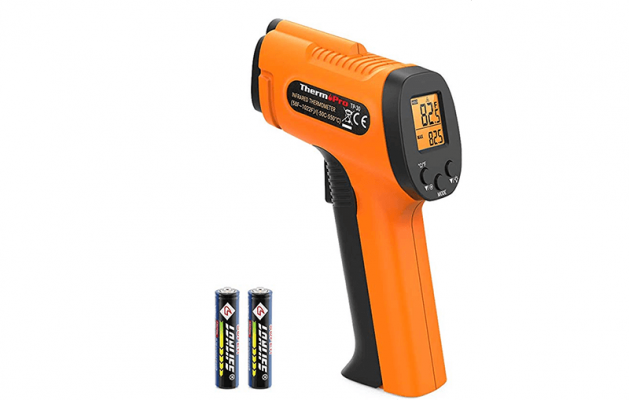 ThermoPro TP30 Thermometer Gun with Battery