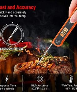 ThermoPro Digital Instant Read Meat Thermometer TP03H Gallery 1