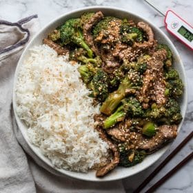 ThermoPro Recipe Beef Broccoli