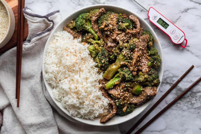 ThermoPro Recipe Beef Broccoli