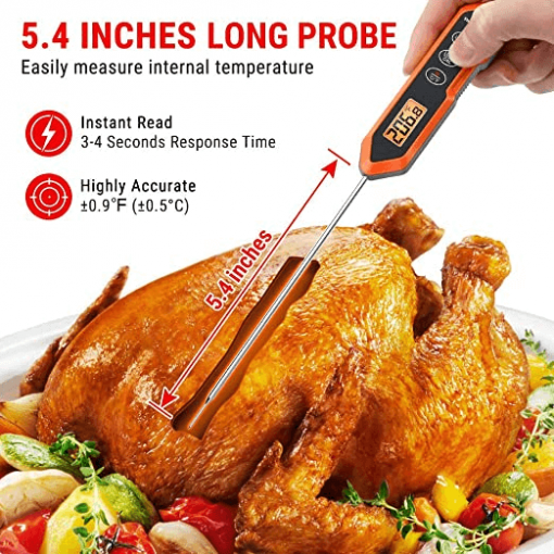 ThermoPro TP15H Digital Instant Read Meat Thermometer Gallery 2