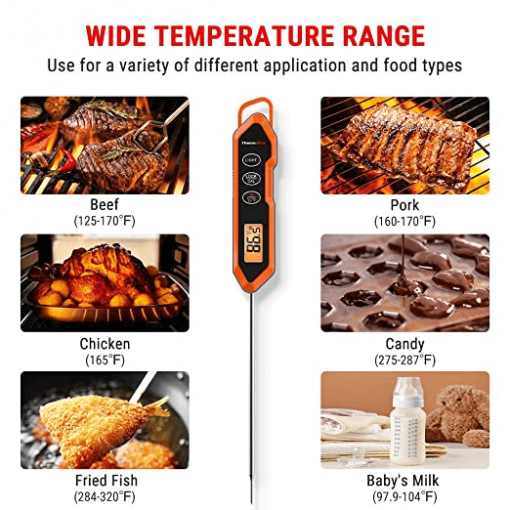 ThermoPro TP15H Digital Instant Read Meat Thermometer Gallery 5
