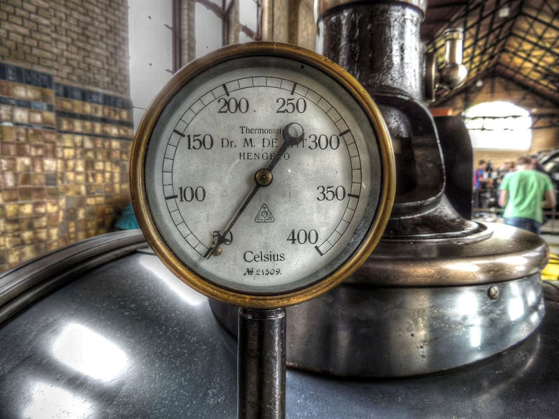 dome thermometer reading
