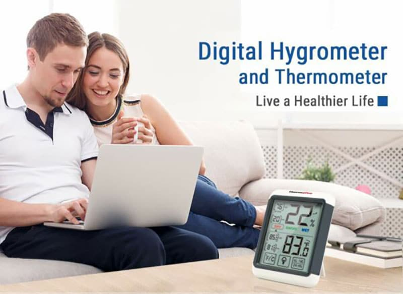 indoor temperature and humidity monitor