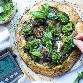 Sausage Burrata Pizza | ThermoPro Recipes