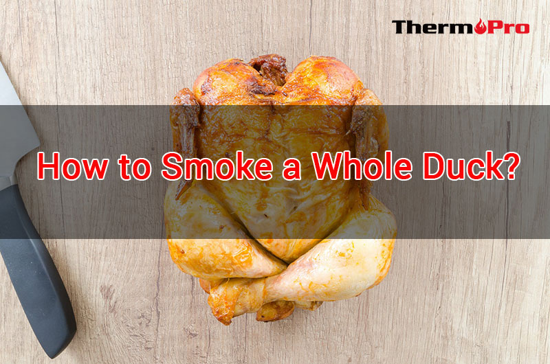 how to smoke a duck