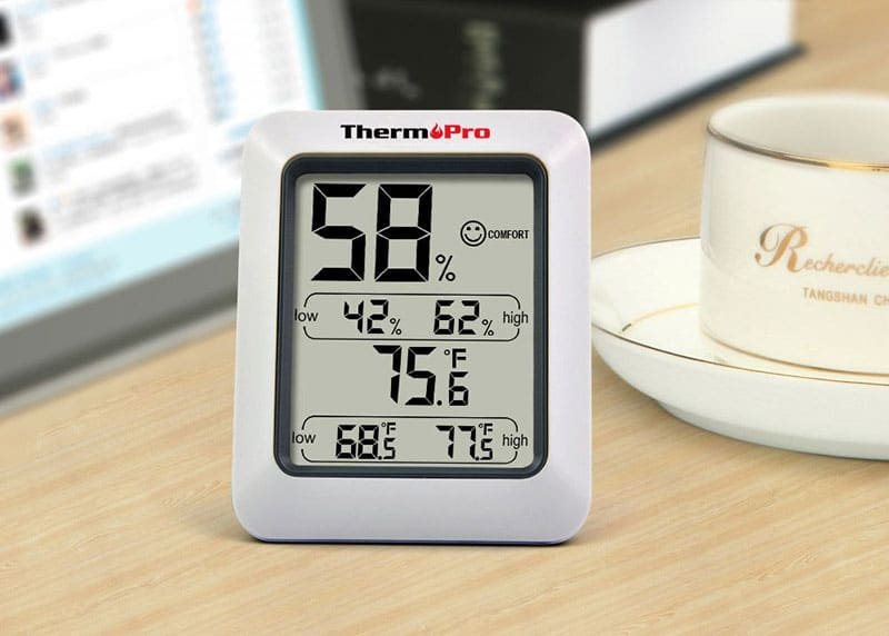 how to get indoor humidity readings