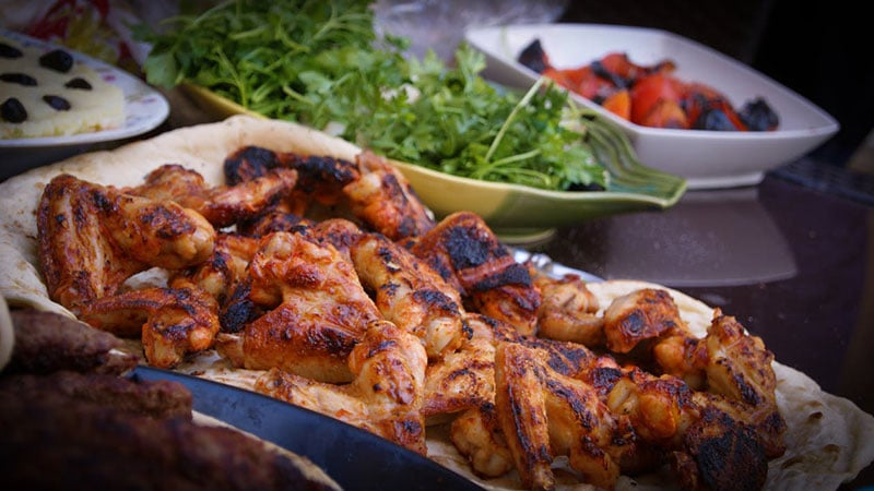 how to grill chicken lollipops