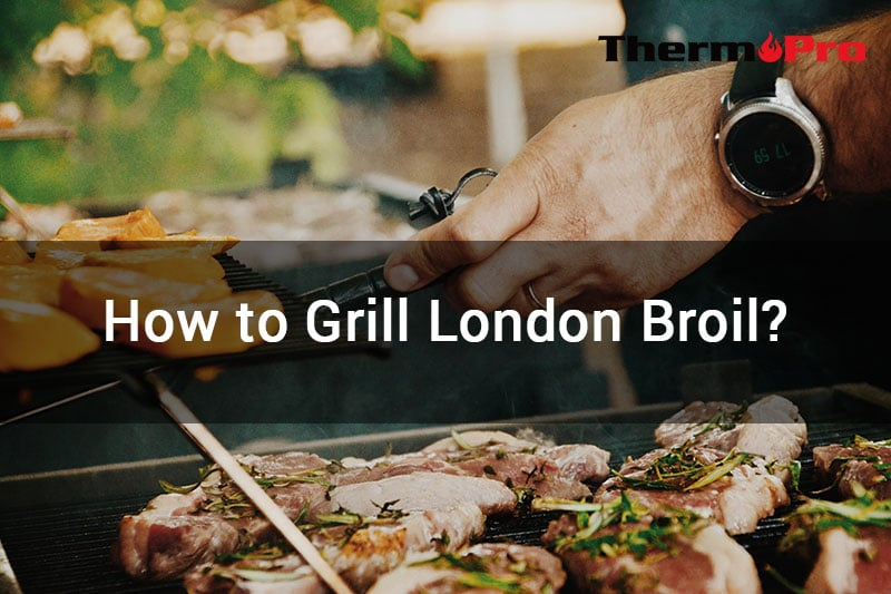 how to barbecue London Broil?