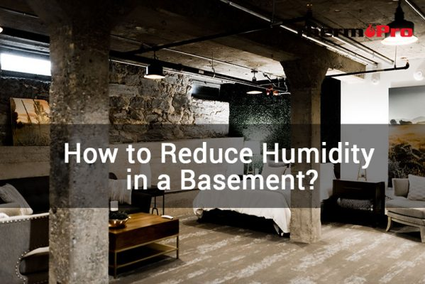 how to reduce humidity in basement
