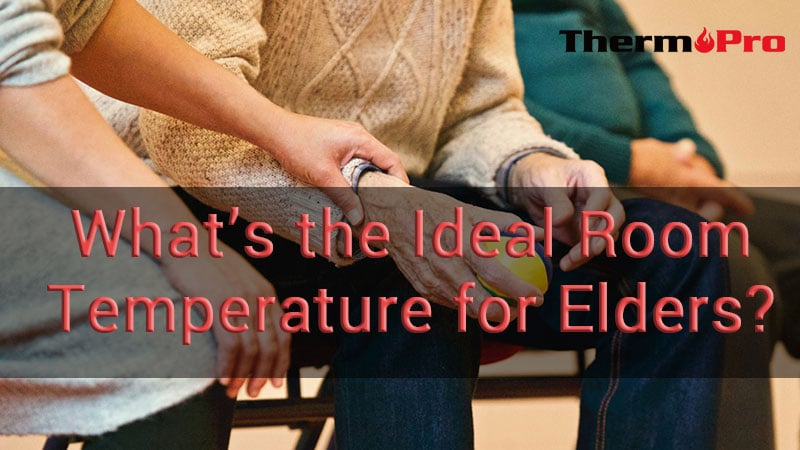 What's the ideal room temperature for elderly