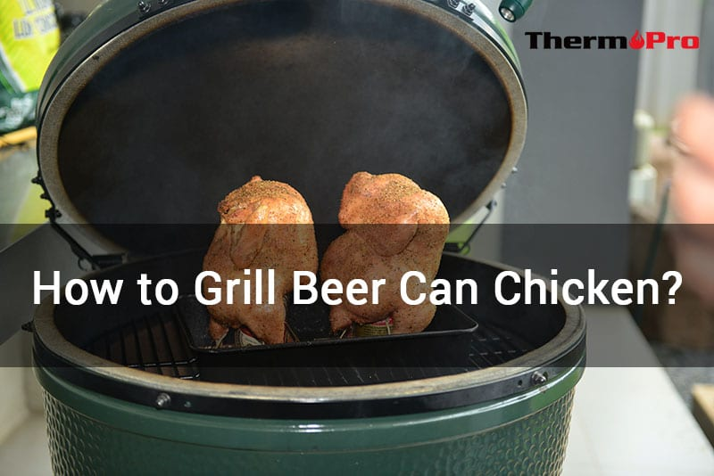how to grill beer can chicken