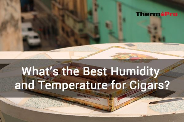 what is the best humidity and temperature for cigars