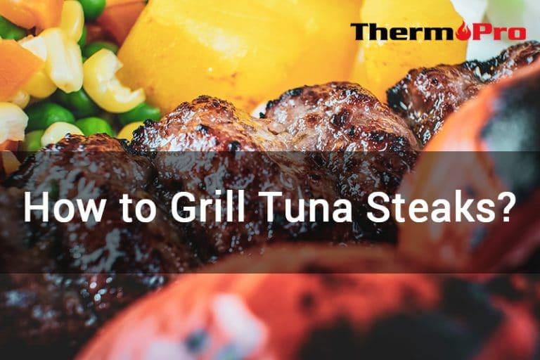 how to grill tuna steak