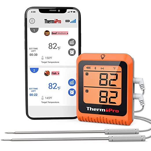 ThermoPro TP-25H2 Smart Bluetooth Meat Thermometer