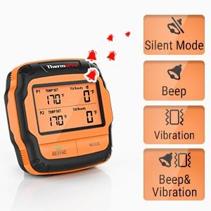 Smart Temperature Alarm – Silent Mode!
