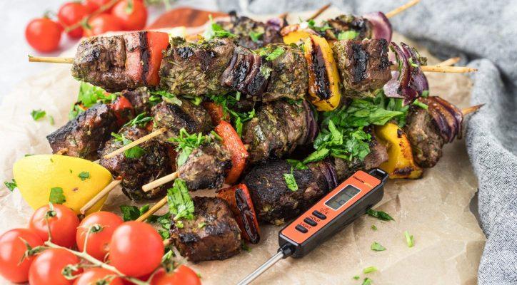 Chimichurri Beef Kabobs