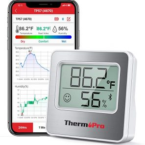 Thermopro TP357 Bluetooth Digital Indoor Hygrometer Thermometer