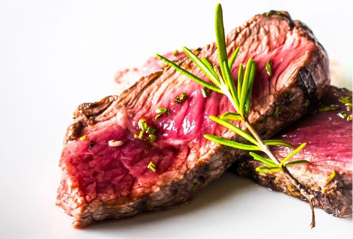 undercooked steak