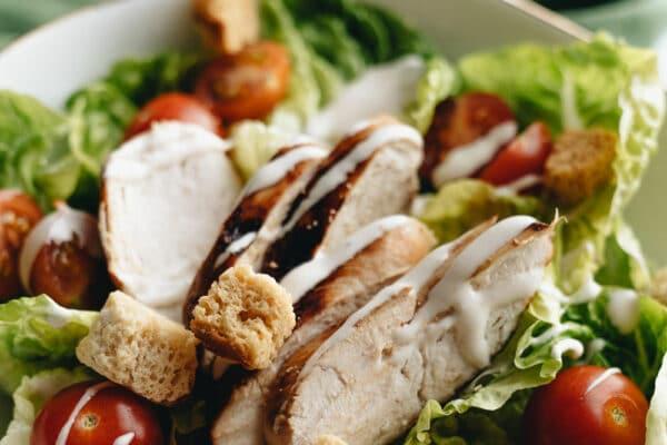 Tasty Grilled Chicken Salad Recipe